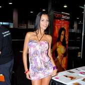 Janessa Brazil Adult Film Stars Appear At Exxxotica 2010 In Chicago 25
