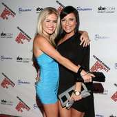 Amber Meade And Sarah Michaels Fashion's Night Out Los Angeles At