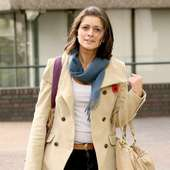 Lucy Verasamy Outside The ITV Studios London, England - 04.11.10