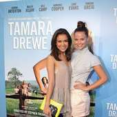 Fely Irvine Left And Lauren Brant The Australian Premiere Of Tamara 18