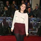Georgia Groome 'Demons Never Die' UK Film Premiere Held At The