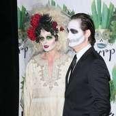 Debra Messing, Daniel Zelman Bette Midler's Annual 'Hulaween' Gala