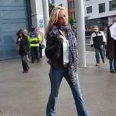 Alison Doody Guests Arrive At The VIP Entrance For Take That At Croke