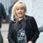Charlene Tilton Outside The ITV Studios London, England - 06.02.12