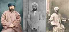 left: Jamal alDin alAfghani (18381897); middle: Muhammad Abduh