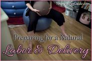 piece on preparing for a natural labor delivery for you young mamas