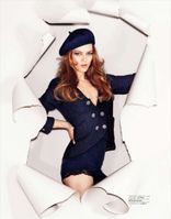 Vanessa Paradis in Chanel for Jalouse September 2012