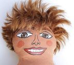 Tina Turner Diva Doll  by Diane G. Casey from Dolls Puppets art