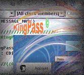 KingPass 1.60+ (A 100% Windows XPcompliant version) helps you: