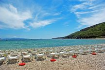 Camping Oliva beach in Rabac