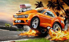 Hot Wheels tapety na pulpit   FD