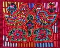 Mola Art from the San Blas Islands of Panama  Travel Photos by Galen