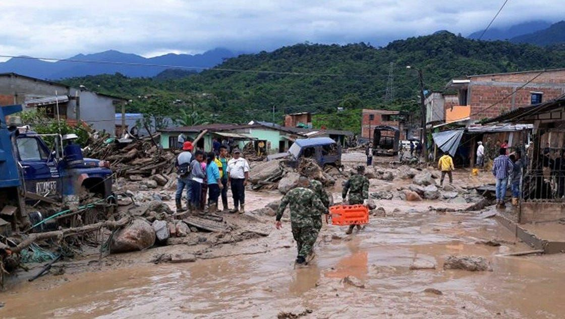 193 dead, 220 missing, 202 injured in Colombia after wall of water roars through city