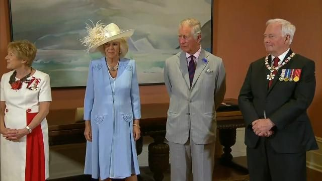 Prince Charles honored as Canada marks 150 years