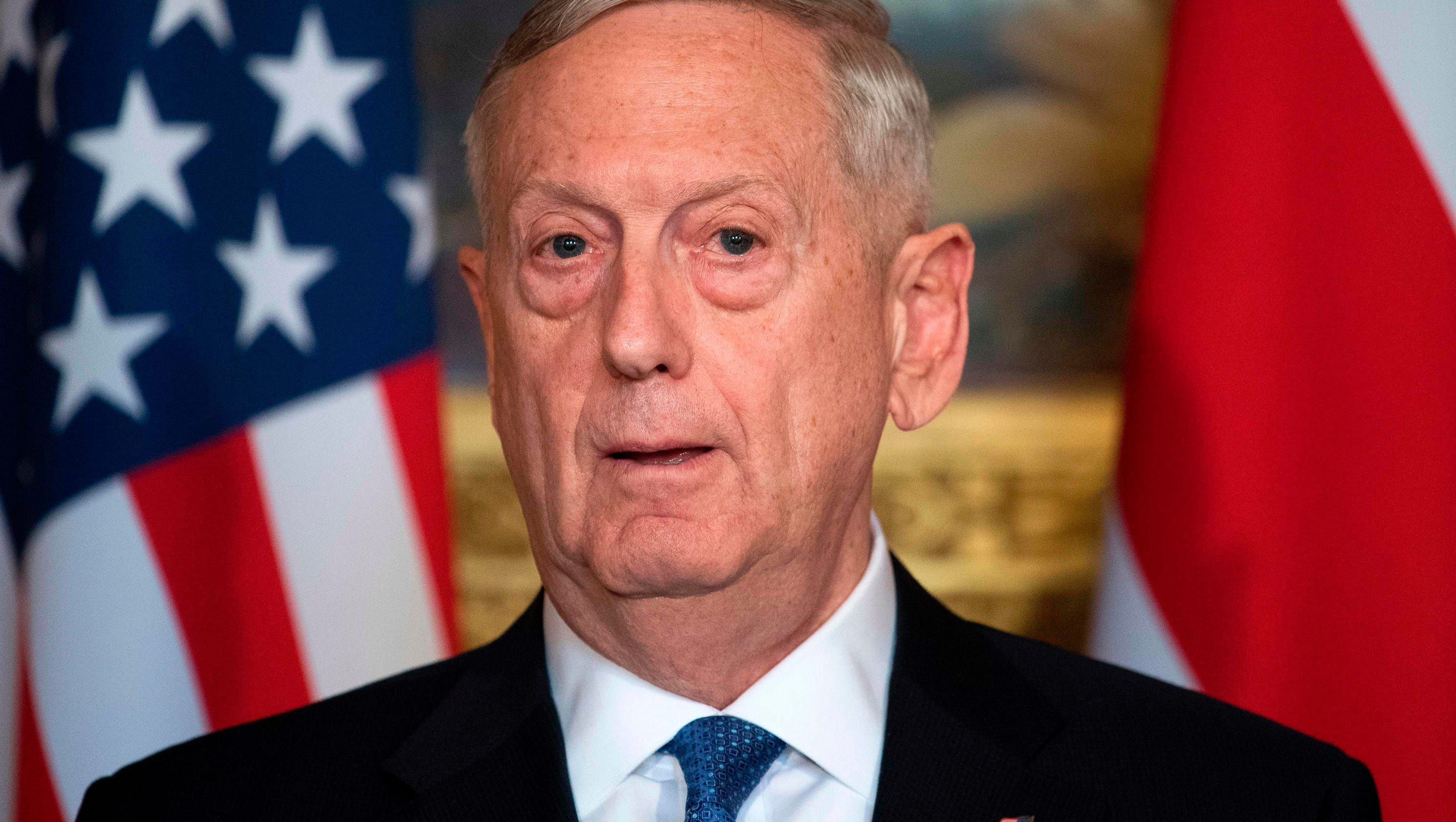 U.S. defense chief Mattis says North Korea has 'got to be stopped'
