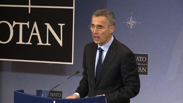 NATO chief says allies will not recognize Crimea annexation