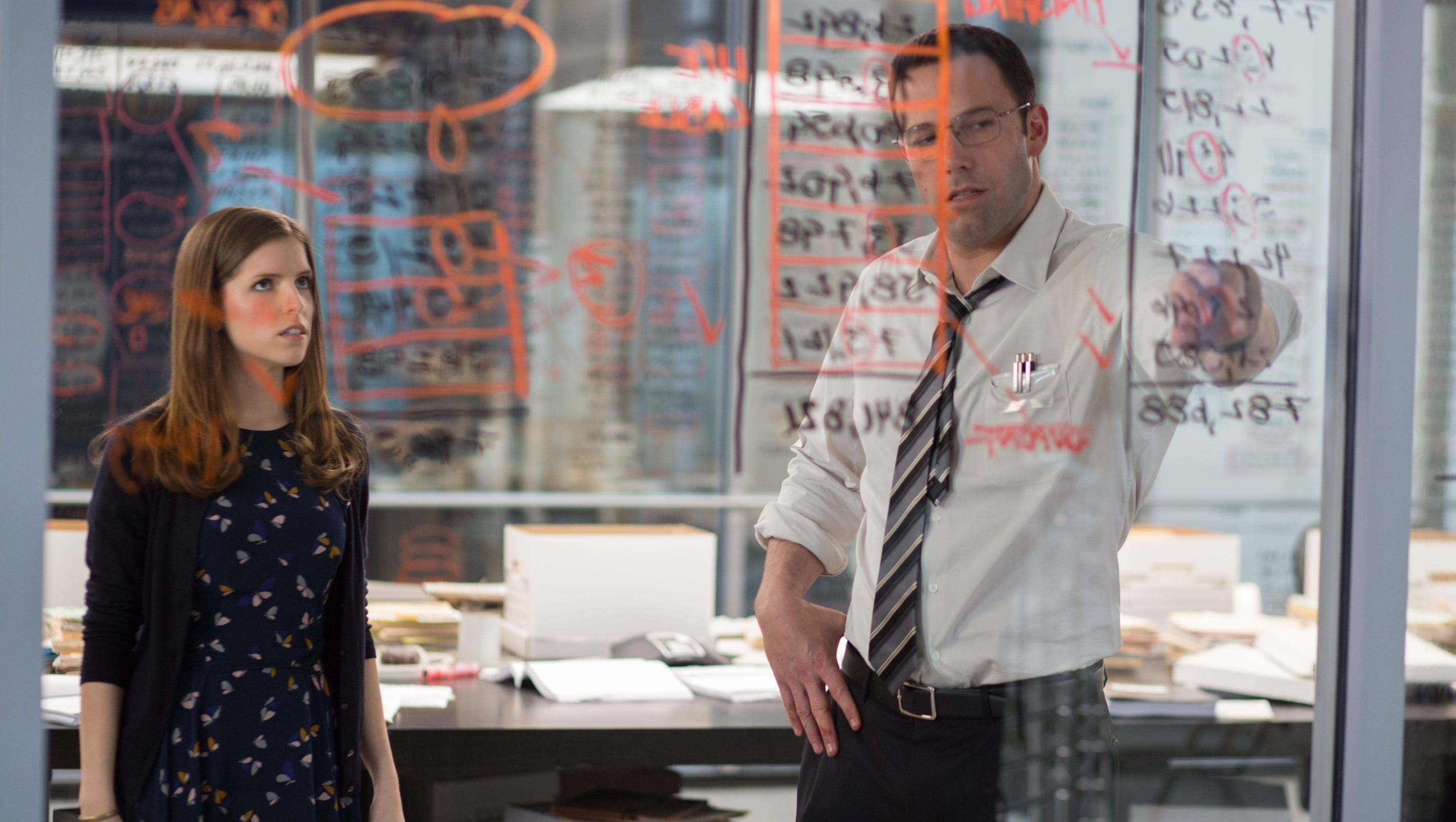 Pairing Ben Affleck, Anna Kendrick is the right equation for 'Accountant' - USA TODAY