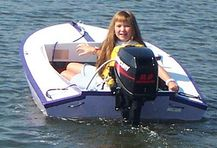 Pee Wee mini outboard boat kit pic542a