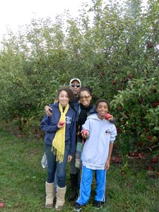 FORCED FAMILY FUN: OUR APPLE PICKING ADVENTURE! « Good Enough Mother