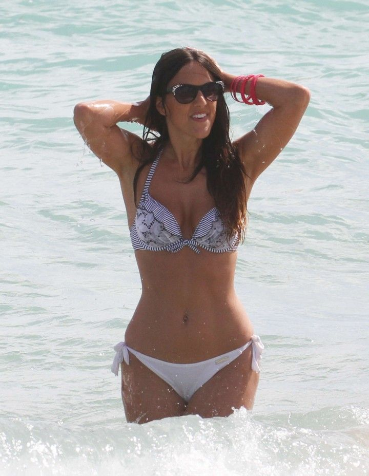 Claudia Romani In Bikini In Miami