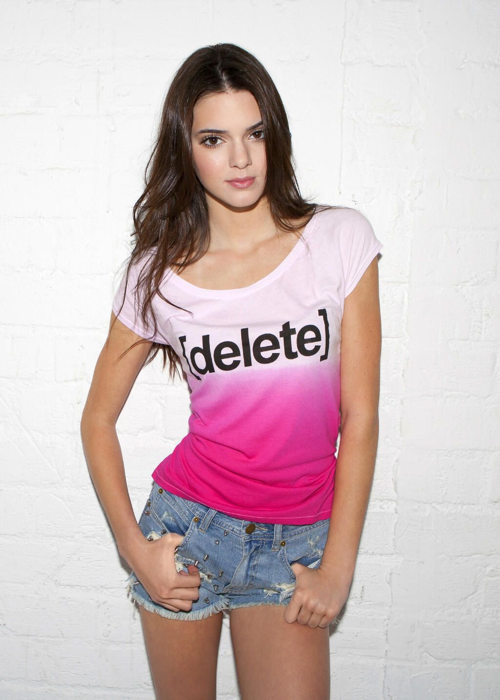 Kendall Jenner For Delete Digital Drama Photoshoot