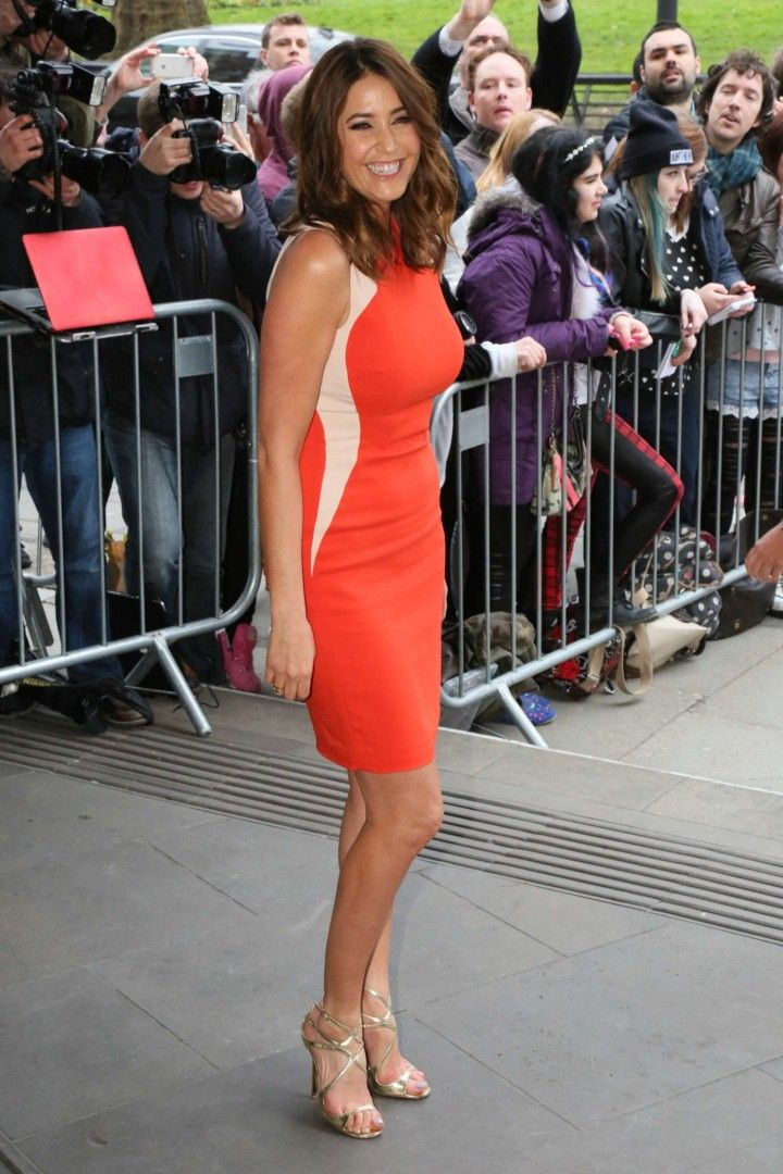 Lisa Snowdon At 2014 Tric Awards