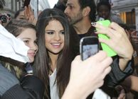 Selena Gomez � Candids in Paris 08  Full Size