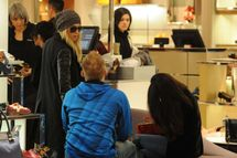 Selena Gomez with Vanessa Hudgens and Ashley Benson – Shopping