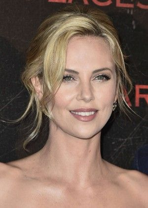 Charlize Theron At Dark Places Premiere In Paris