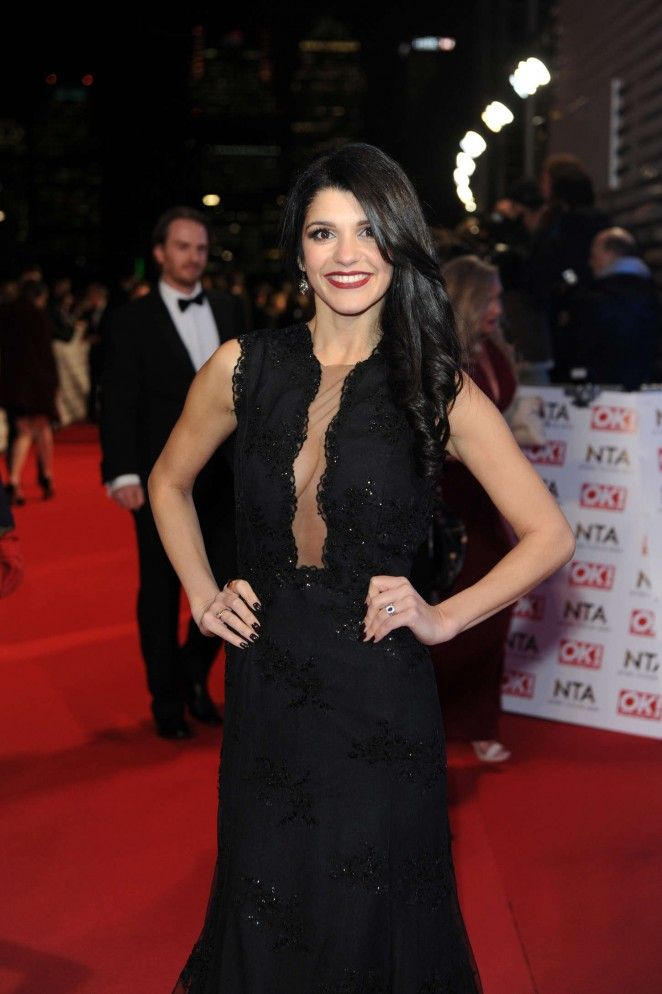 Natalie Anderson U2013 2015 National Television Awards In London