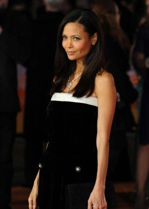 Thandie Newton At Royal Performance And Premiere Of The Second Best Exotic Marigold Hotel