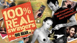 Vivid Entertainment has just released 100% Real Swingers: Big Bear in