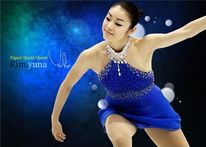 Figure skater Kim Yuna [Kim Yuna's official homepage]