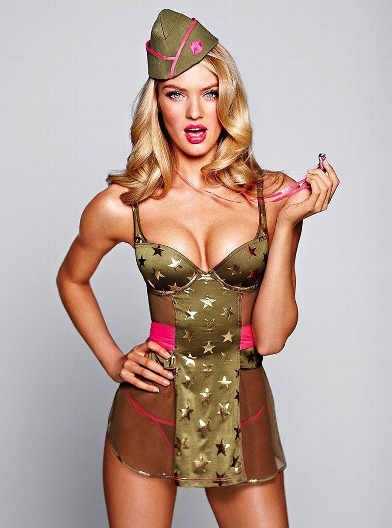 Candice Swanepoel In Victoria U2019s Secret Bikini And Lingerie Photoshoot