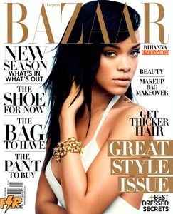 RIHANNA in Harper's Bazaar Magazine, August 2012 Issue
