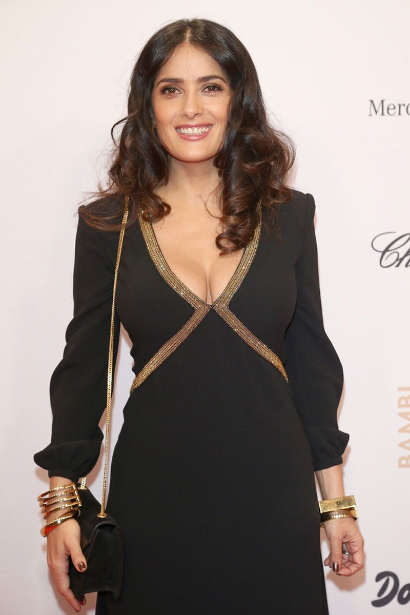 Salma Hayek At Bambi Awards 2012 In Berlin