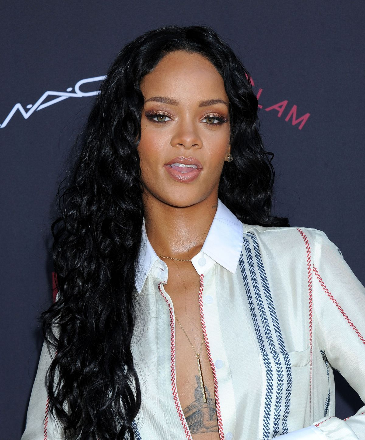 Rihanna At Roc Nation Grammy Brunch In Beverly Hills