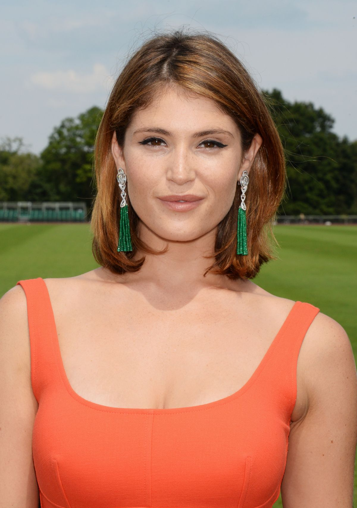Gemma Arterton Audi International At Guards Polo Club In London