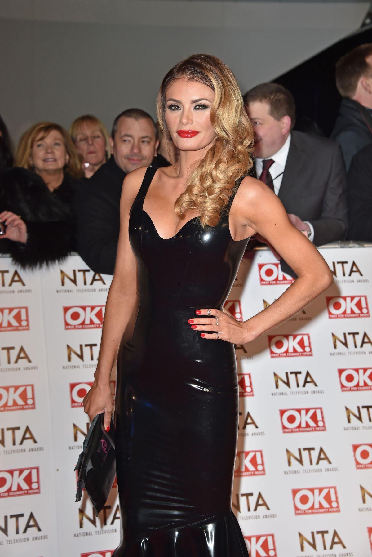 Chloe Sims U2013 2015 National Television Awards In London