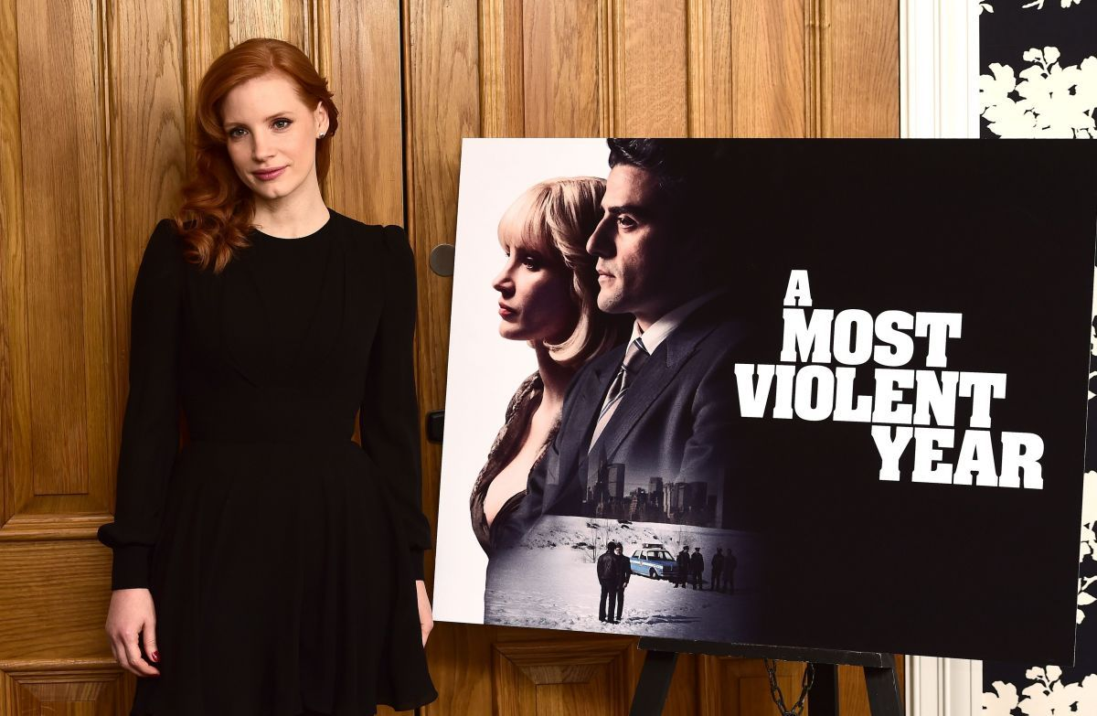 Jessica Chastain U2013 A Most Violent Year Photocall In London