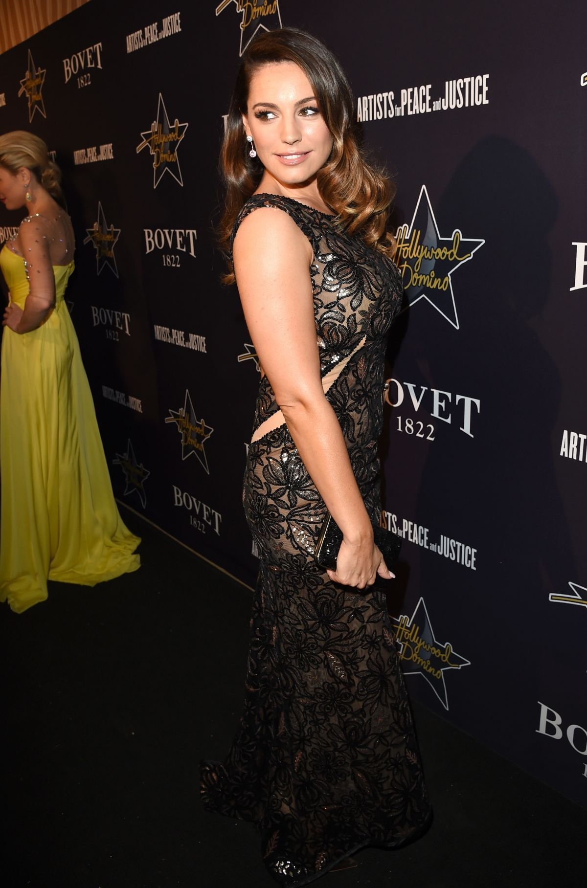 Kelly Brook At 2015 Hollywood Domino Gala In Los Angeles