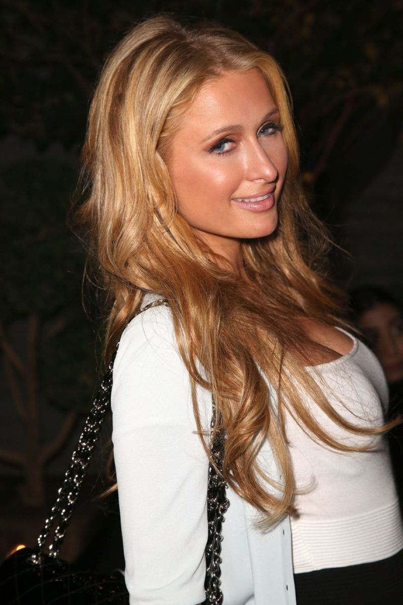 Paris Hilton At Z Zegna Gq Celebrate New Z Zegna Collection In West Hollywood