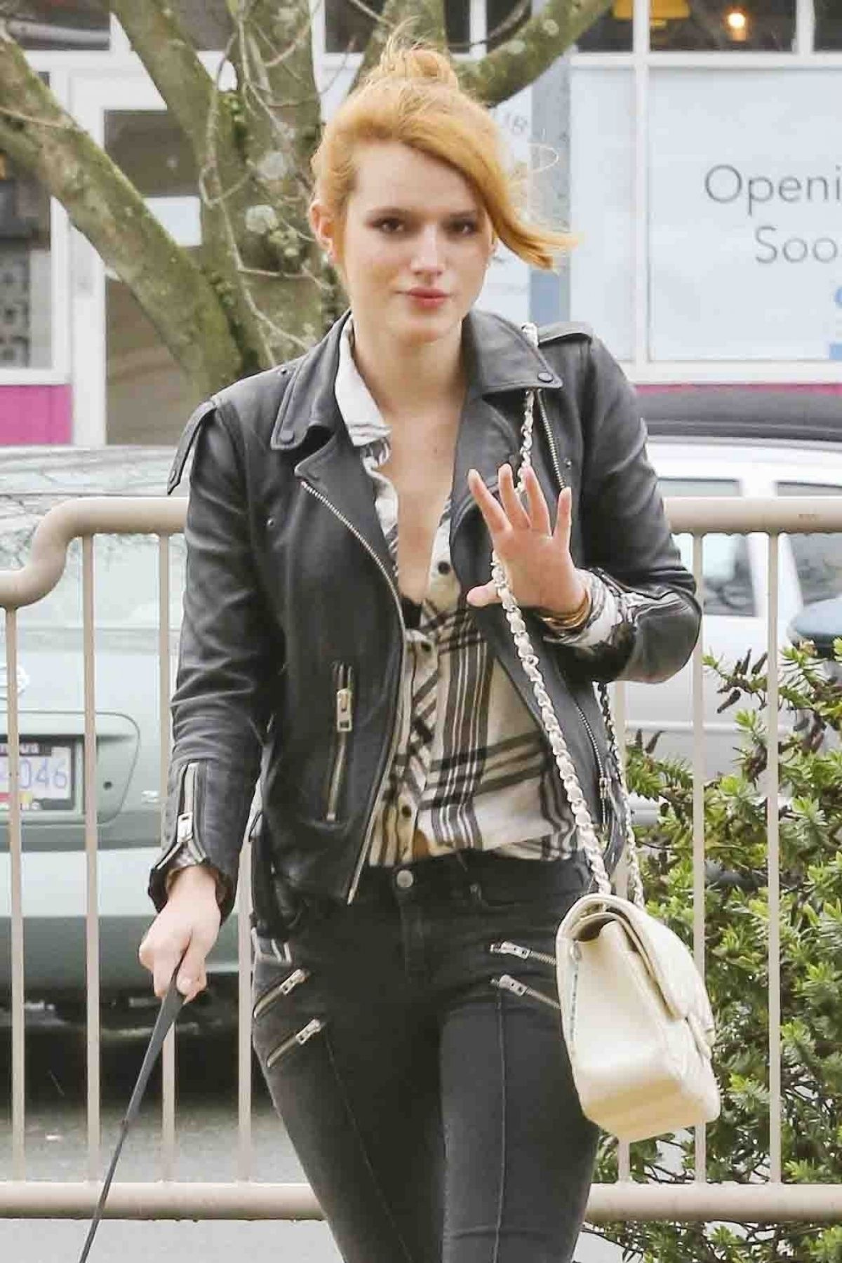 Bella Thorne Out Shopping In Los Angeles
