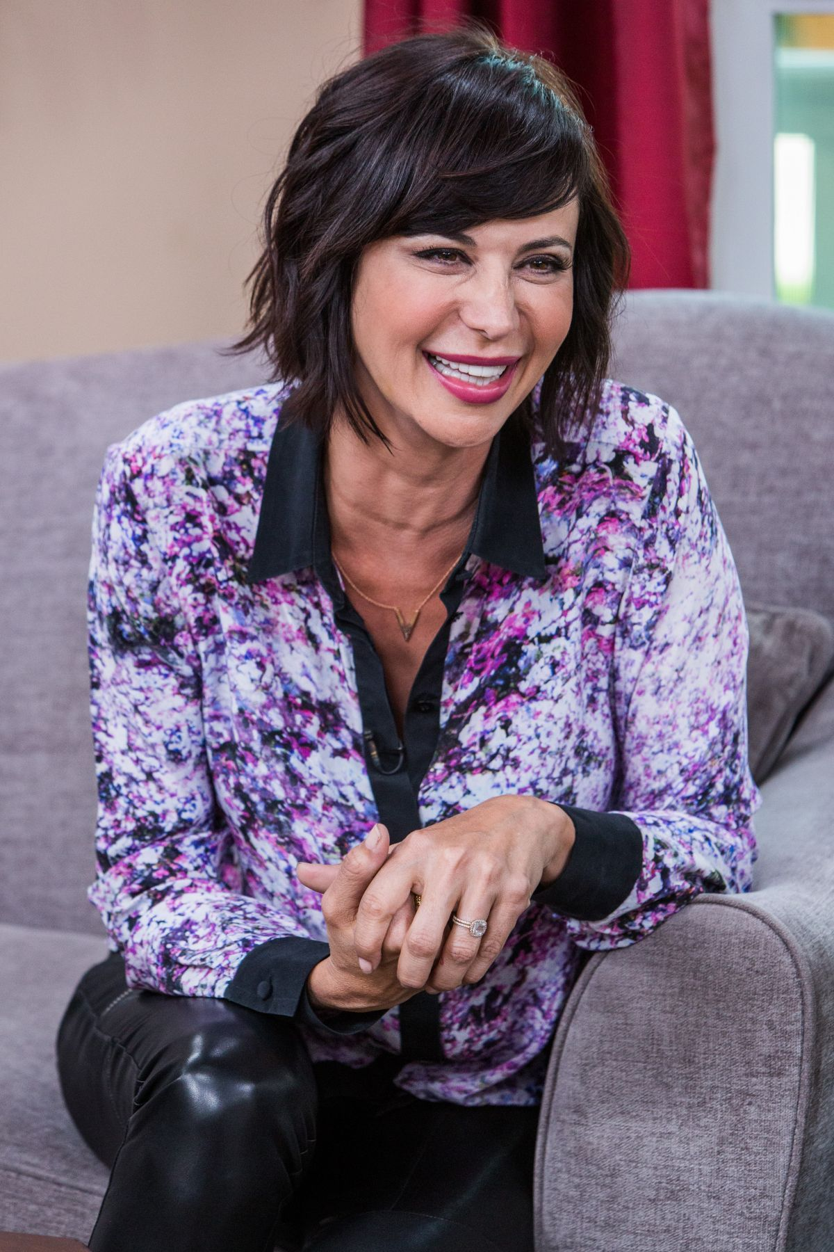Catherine Bell At Home Family Show