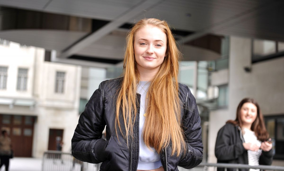 Sophie Turner Arrives At Radio 1 Breakfast Show In London