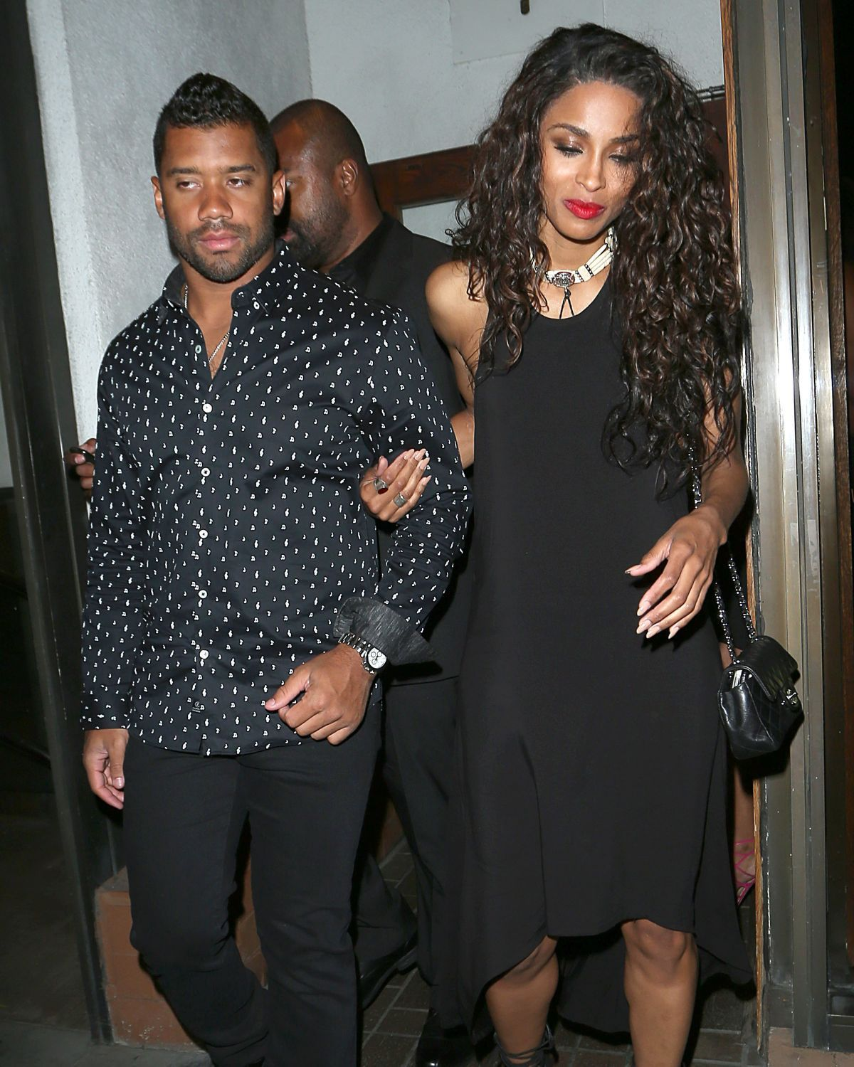 Ciara Leaves Madeos Restaurant In Los Angeles 06 28 2015
