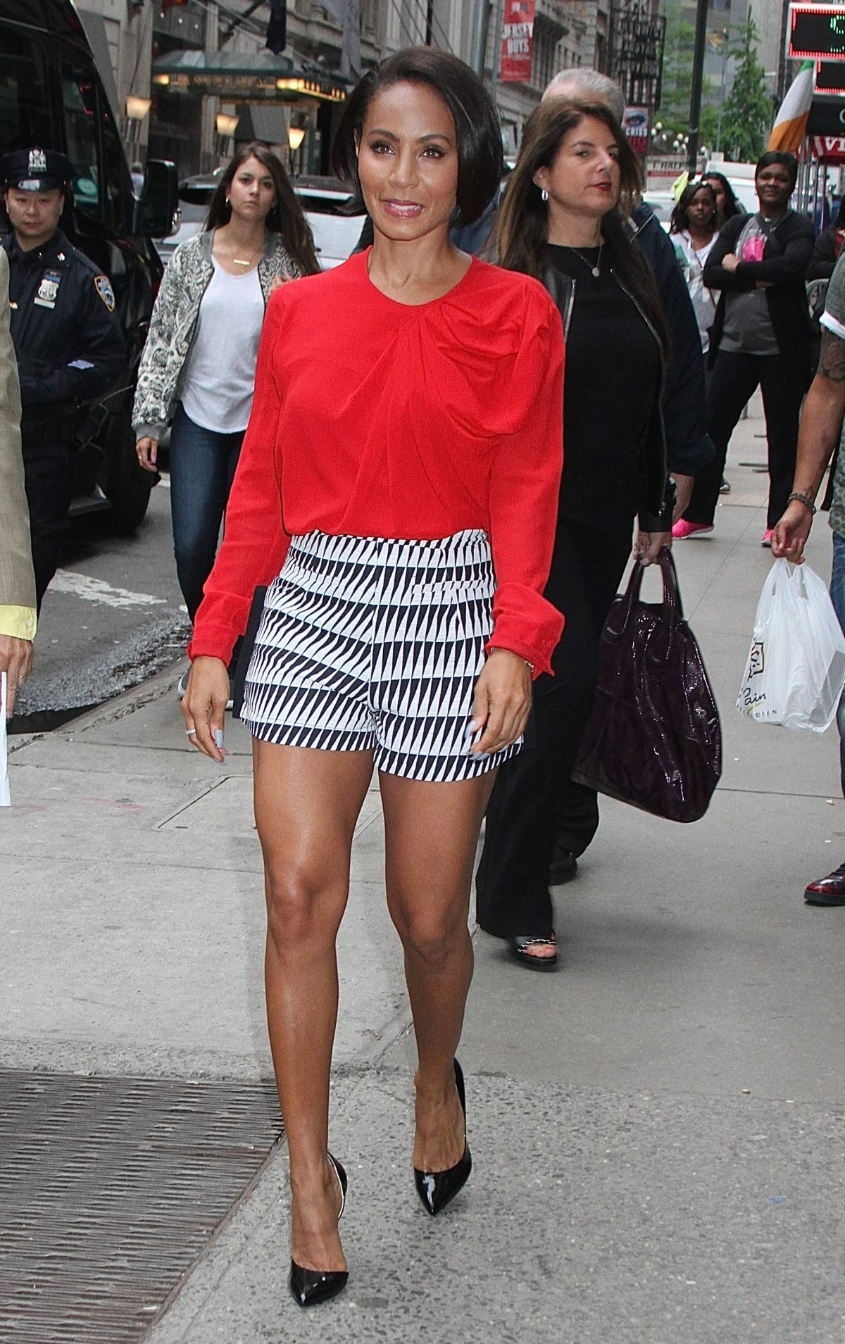 Jada Pinkett Smith At Good Morning America In New York 06 04 2015