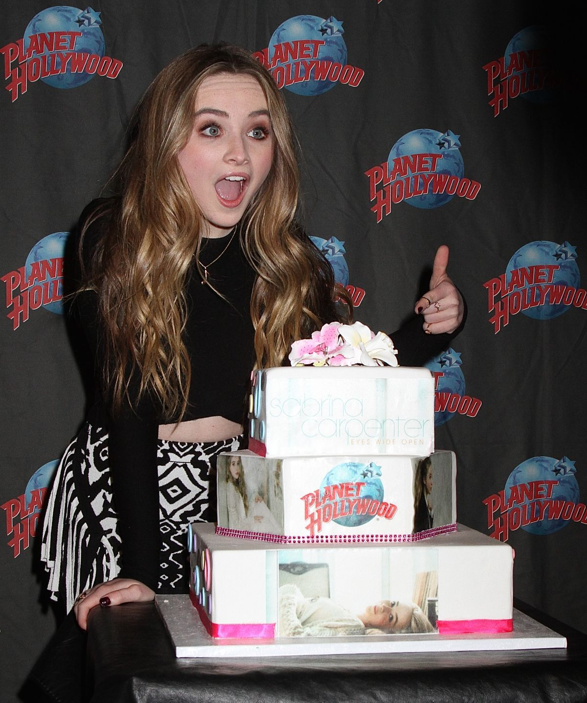 Sabrina Carpenter At Planet Hollywood Times Square In New York 06 07 2015