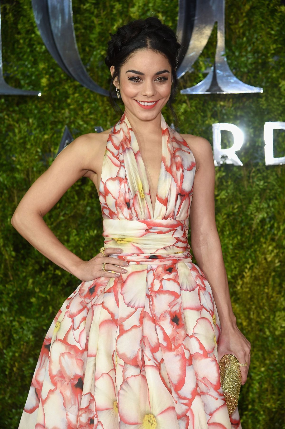 Vanessa Hudgens At 2015 Tony Awards In New York