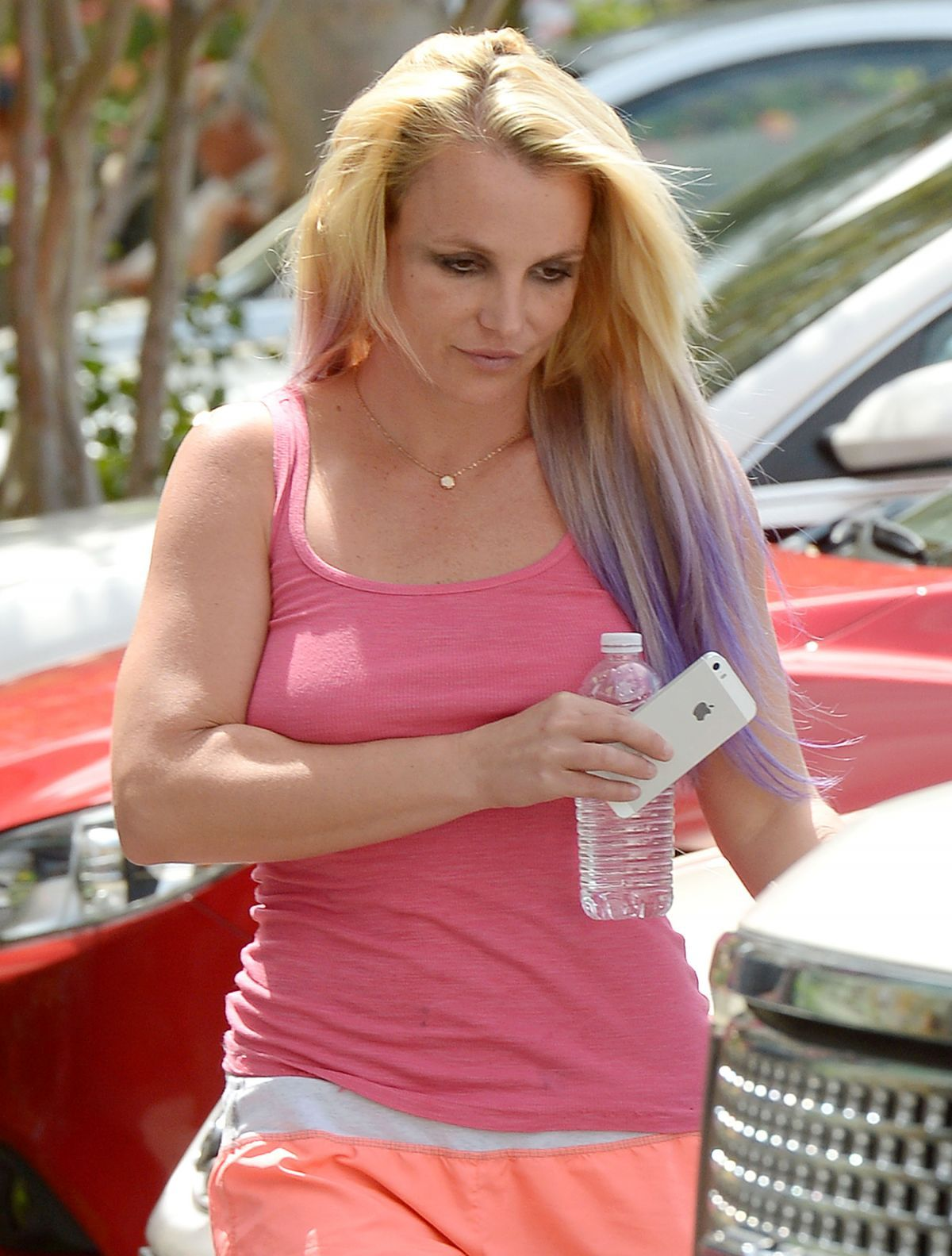 Britney Spears Out And About In Calabasas 07 22 2015